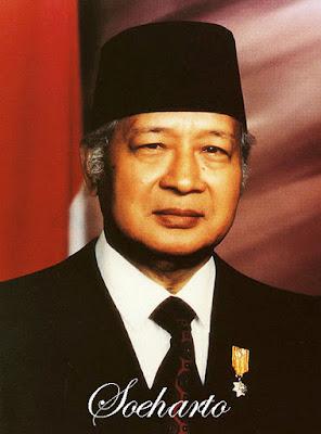 Foto Soeharto presiden Indonesia ke 2