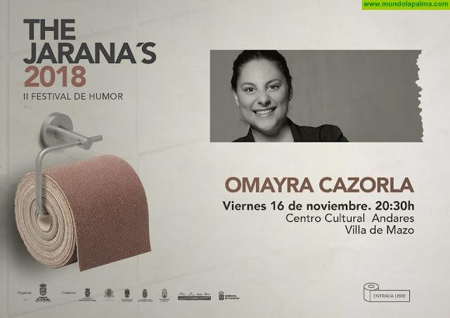 'The Jarana's' lleva el espectáculo cómico 'Malcriá' de Omayra Cazorla al Centro Cultural Andares de Villa de Mazo