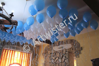 Гелиевые воздушные шары на празднике