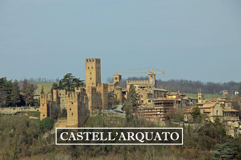 Castell'Arquato y la Rocca Viscontea