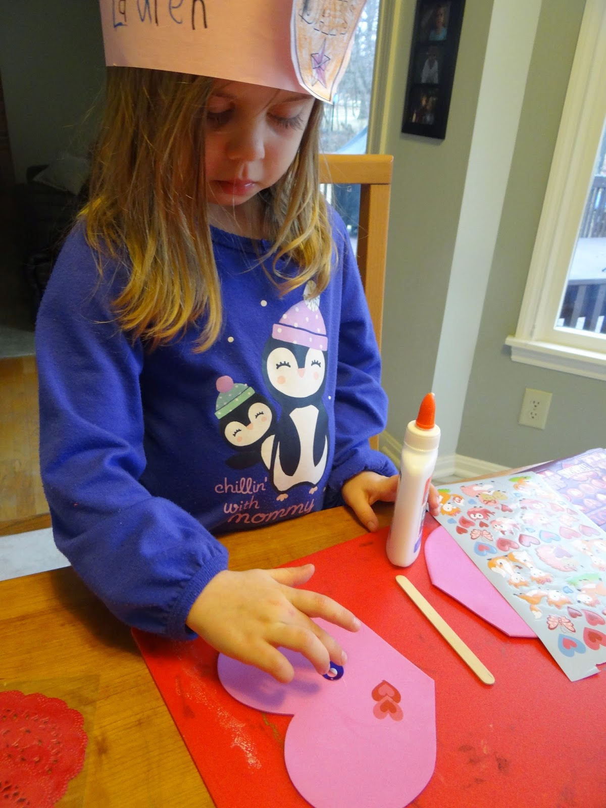 This Life Well Loved: Valentine's Day Heart Butterflies