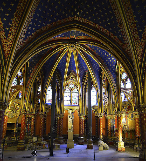 Paris Daly Report Sainte-chapelle