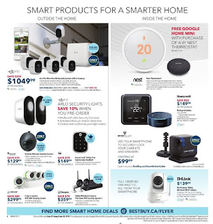 Smart Products for a Smarter Home Best Buy Flyer July, 2018