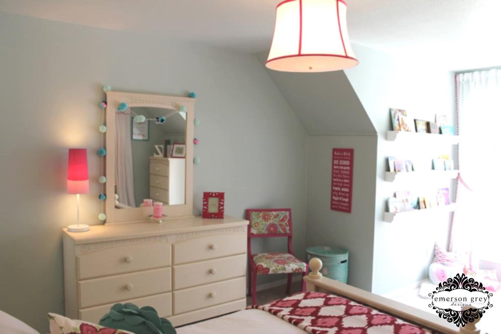 Raspberry Girl Raspberry And Aqua Big Girl Room
