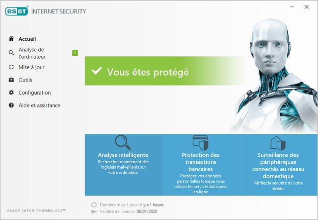 تفعيل برنامج الحماية من الفيروسات ESET Internet Security 11 آخر إصدار