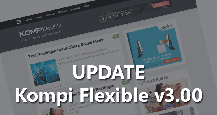 Update Template Kompi Flexible v3.00