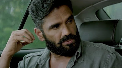 Suniel Shetty Action Pose HD Wallpaper In A Gentleman Movie