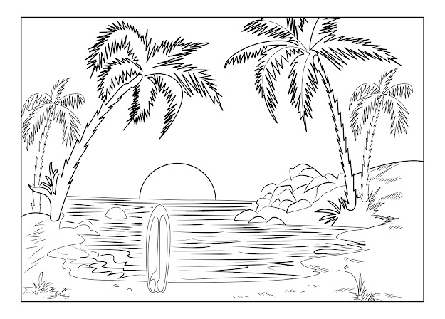 Various And Well Drawn This Coloring Pages Will Transport You Into New  Countries  Just Chose Your Destination Take Your Pencils And Travel  With Us