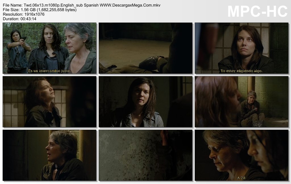 The Walking Dead Temporada 6 capitulo 13 Castellano hd