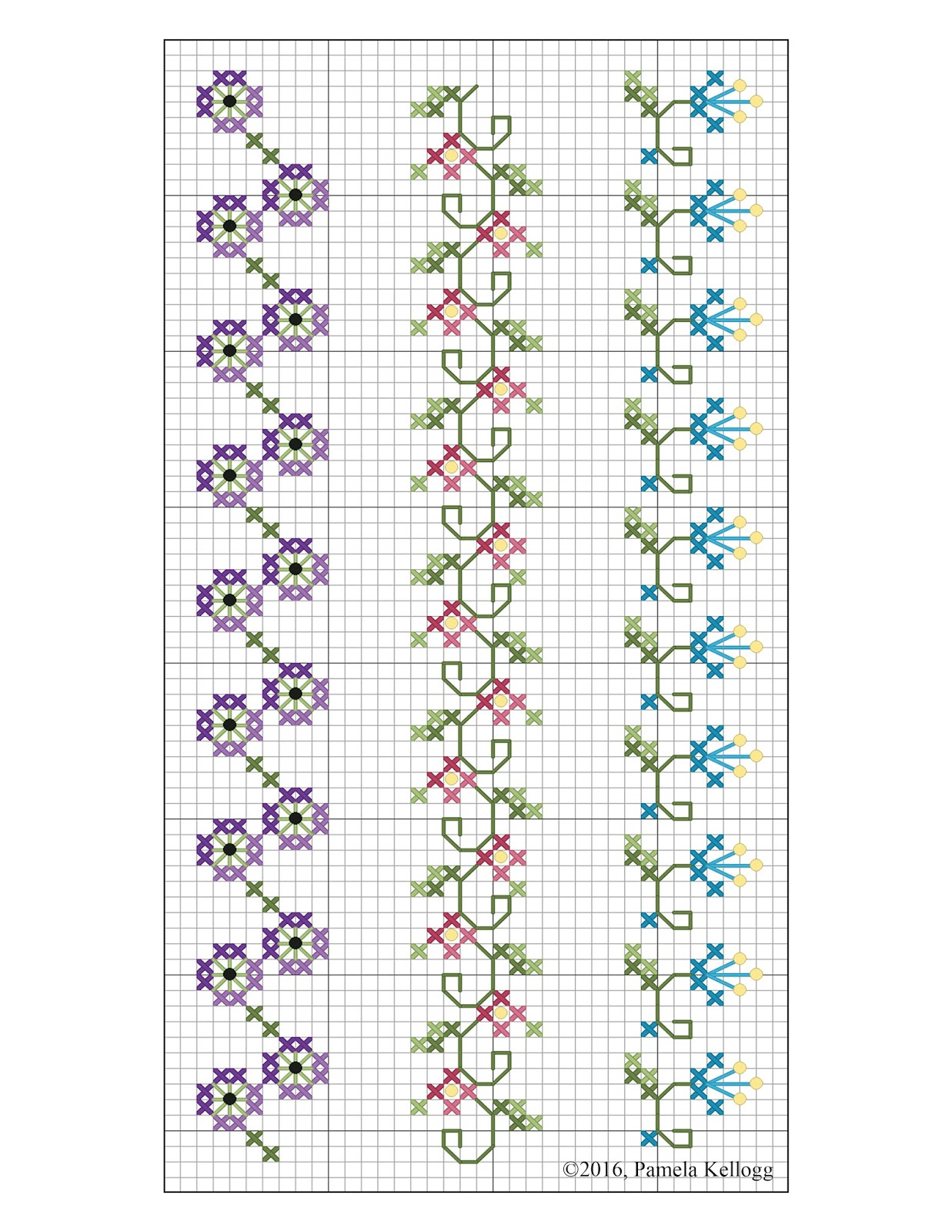 Kitty And Me Designs Crazy Quilt Seam Embroidery