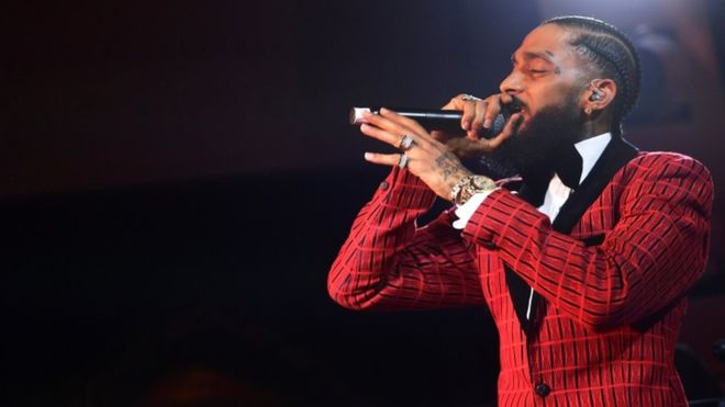 US rapper, Nipsey Hussle shot dead outside his Los Angeles Store