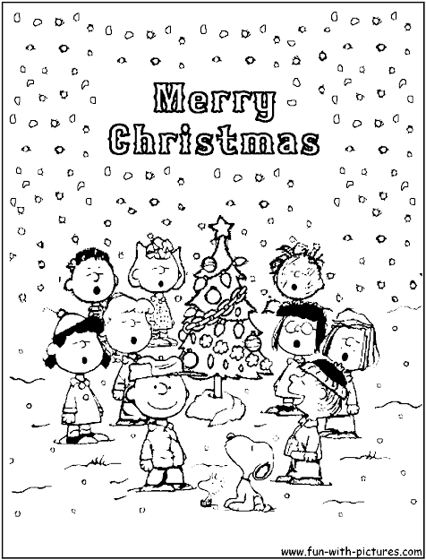 Charlie Brown Christmas Coloring Pages  Bing Images Love Charlie Brown