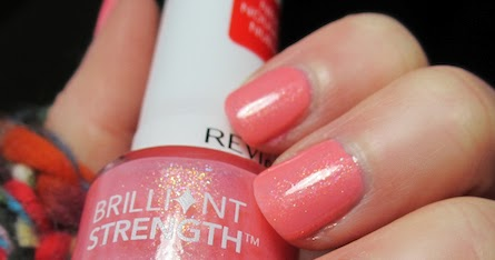 Iheartprettypolish Revlon Dazzle Swatch And Review Orly Cotton Candy Base