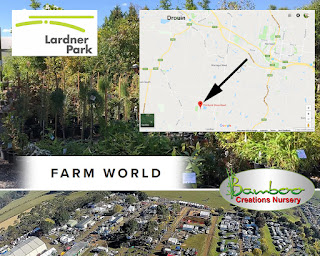 Bamboo Creations Victoria are attanding the farm world event at Lardner Park