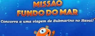 Cadastrar Promoção PBKids 2016 Missão Fundo do Mar