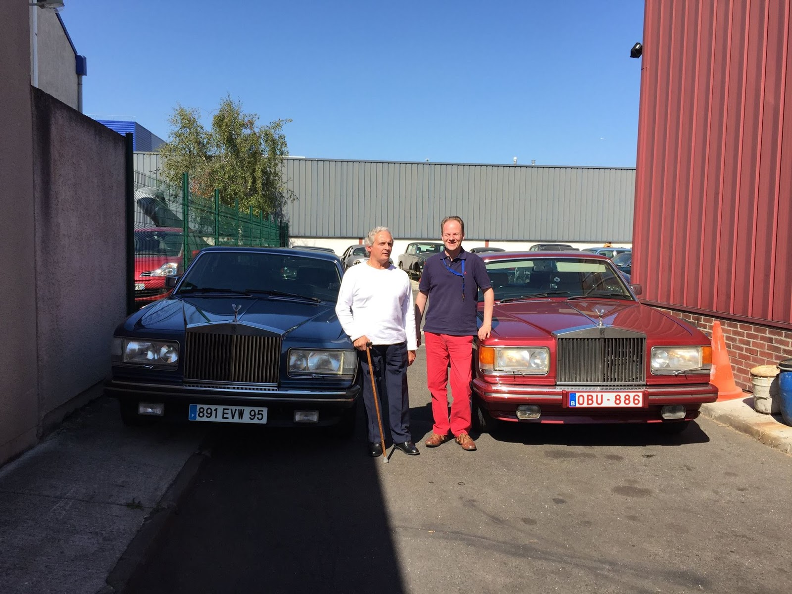 Rolls royce bentley garage americo paris argenteuil for Garage paris club