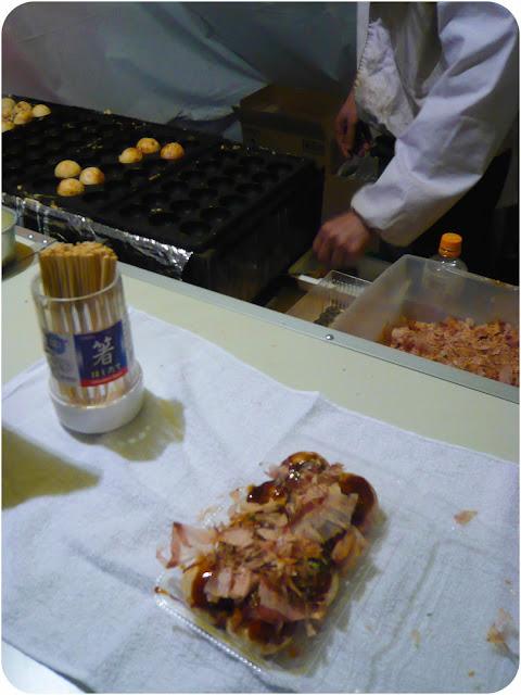 Takoyakis japonais