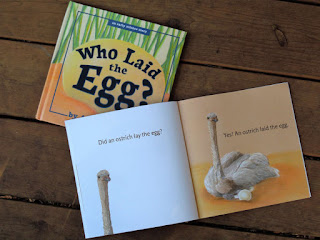 Who Laid the Egg: a picture book for toddlers