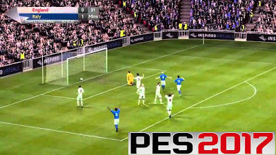 Download PES 2017 Android Gold Edition Apk + Data Full Transfer