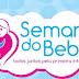 Solenidade de abertura da Semana do Bebê será realizada nesta segunda-feira (19/11)