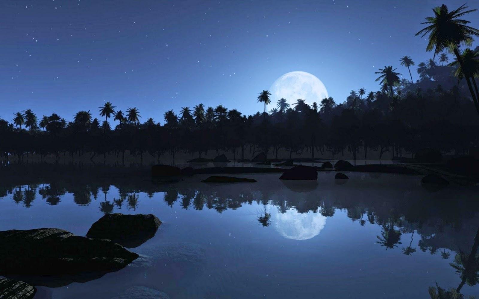 night-sweet-dreams-reflaction-wallpapers