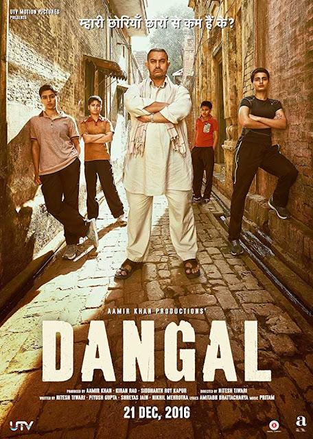 Poster Dangal 2016 Full HD Movie Download 300MB Free