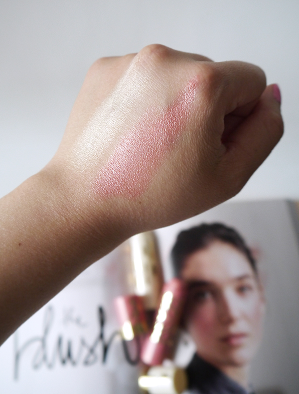Annabelle Perfect Cream Blush and Highlight Sticks swatches