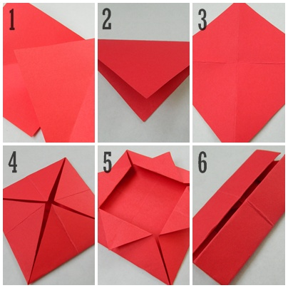 how to make a box out of paper - Romeolandinez