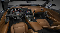 The 2014 Chevrolet Corvette Stingray interior