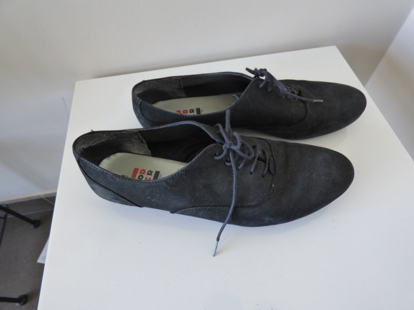 derbies en cuir rodier
