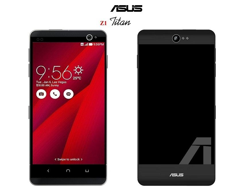 Bila kita hanya mengenal Asus dari Laptop Gaming Republik of Gaming  Spesifikasi Asus Z1 Titan, Smartphone Geming Spek Dewa