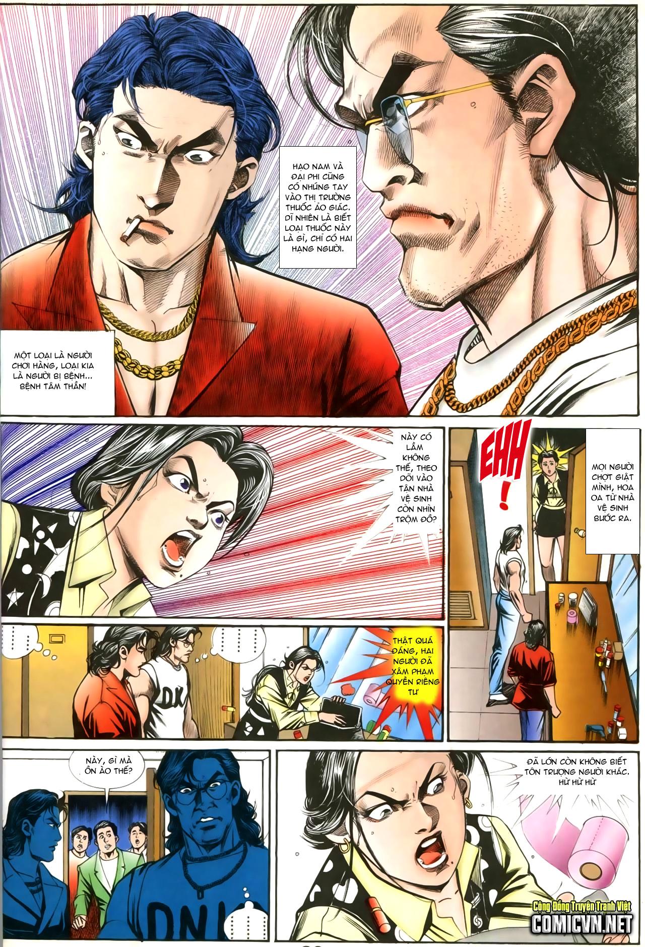 Người Trong Giang Hồ chapter 207: nhật ký đau lòng trang 25