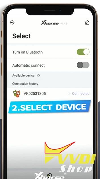 bind-vvdi-tools-on-xhorse-app-5