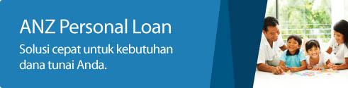 Kredit Tanpa Agunan Bank ANZ/  KTA ANZ / Personal Loan ANZ, Pinjaman Uang Tanpa Agunan Dari Bank ANZ di Bandung