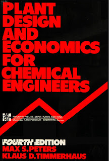 PLANT DESIGN AND ECONOMICS FOR CHEMICAL ENGINEERING