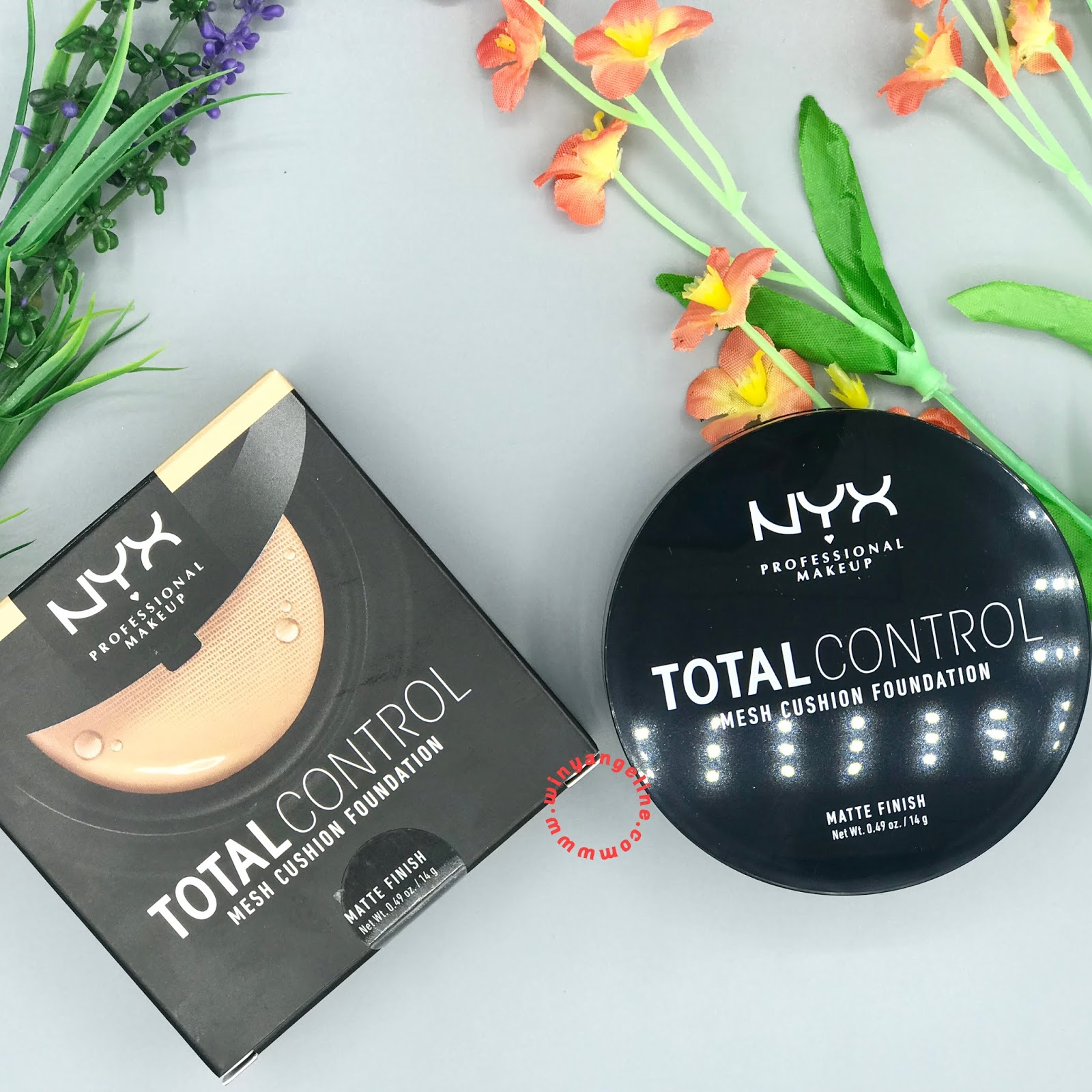 Nyx Total Control Mesh Cushion Foundation Review