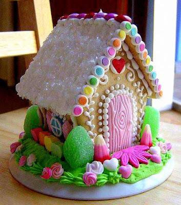 kek bentuk rumah
