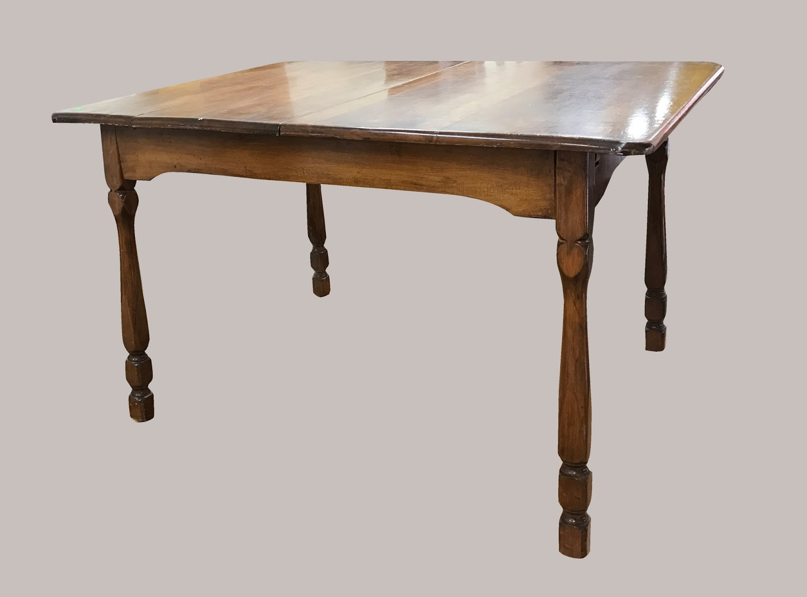 Uhuru Furniture & Collectibles: Maple Kitchen Table with ...