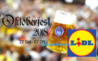 Logo Concorso ''Scopri i sapori Bavaresi con Lidl'' e vinci 27 viaggi Oktoberfest per 2 persone