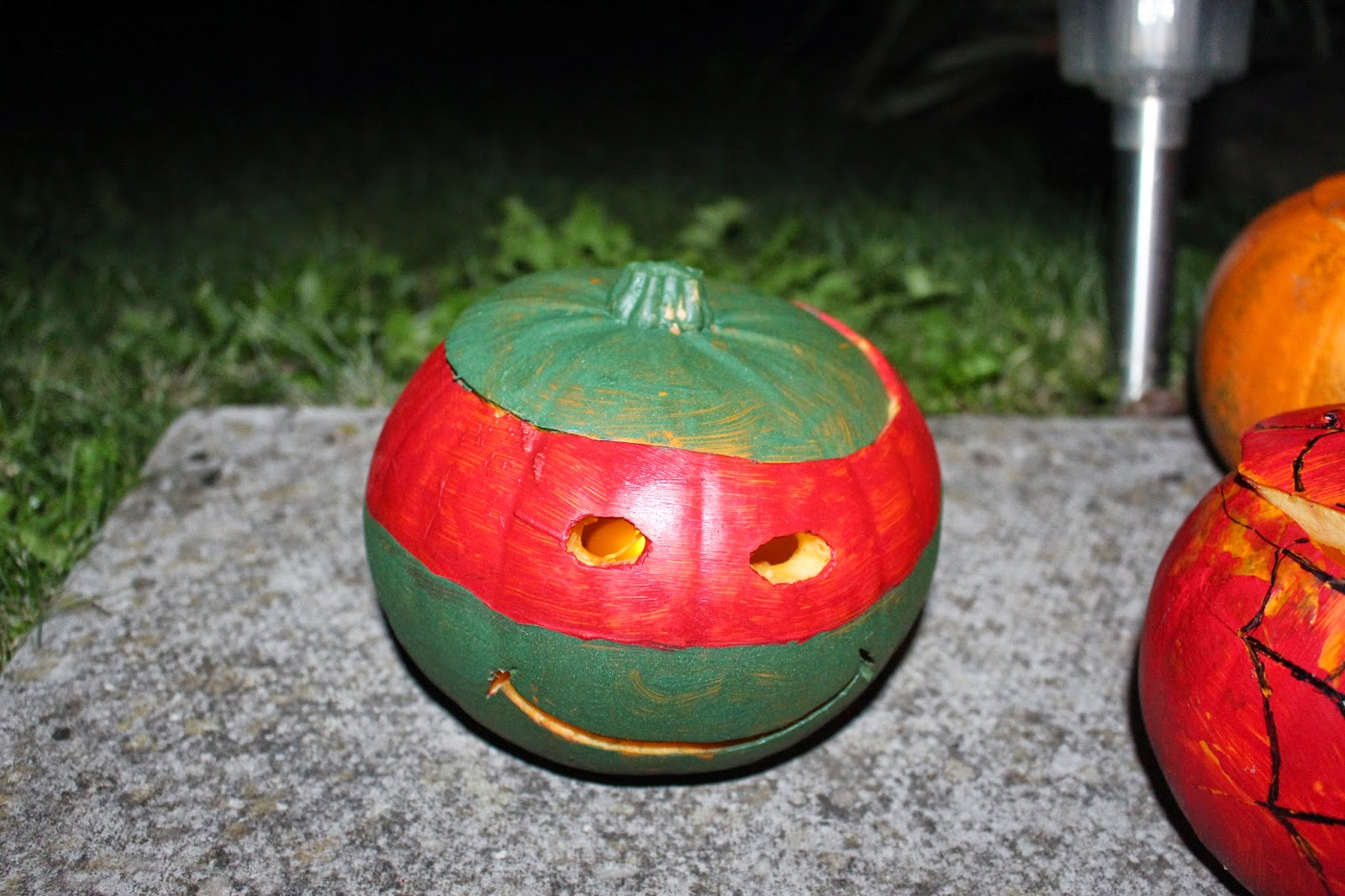 teenage mutant ninja turtles pumpkin