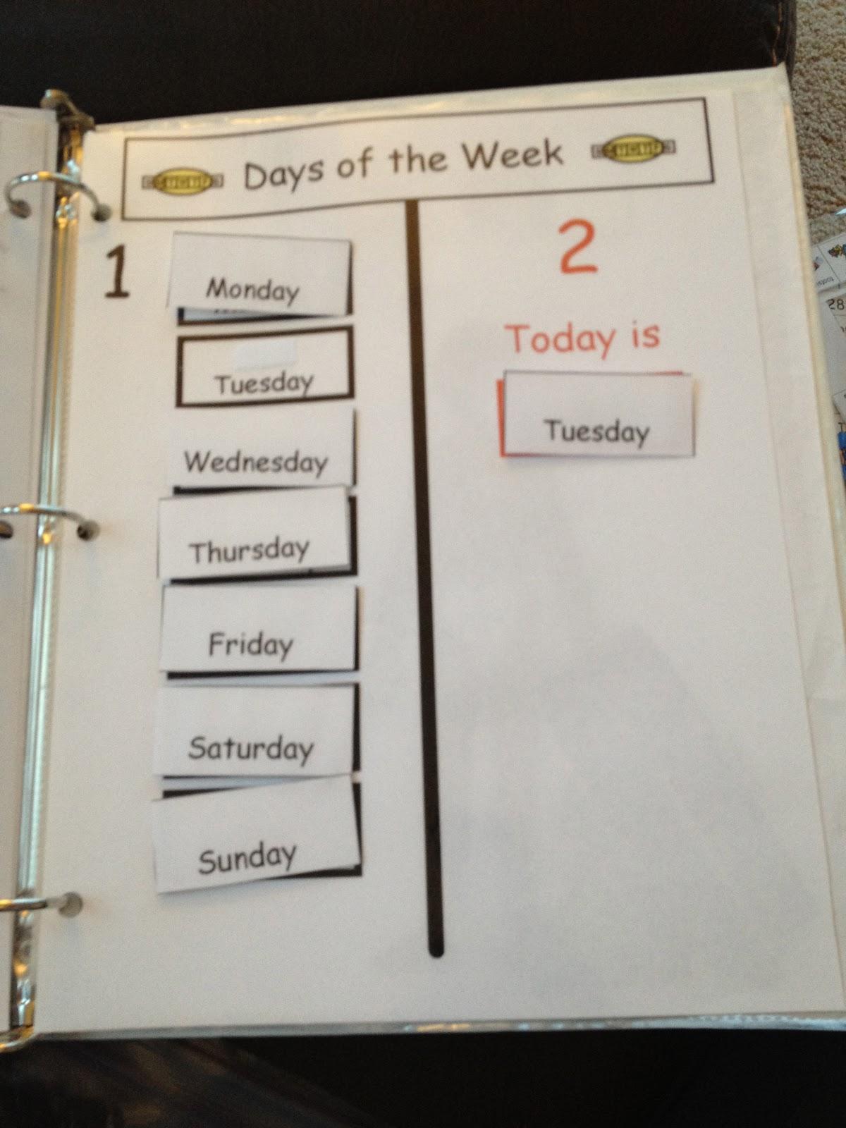 Autism Tank Homework Binders