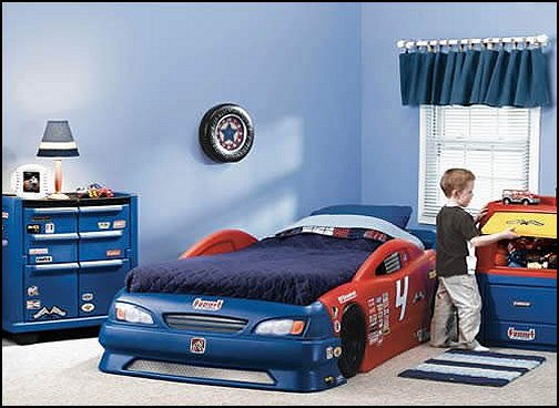 Kids Sports Car beds  twin race car bed toddler car beds