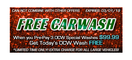 want a free car wash