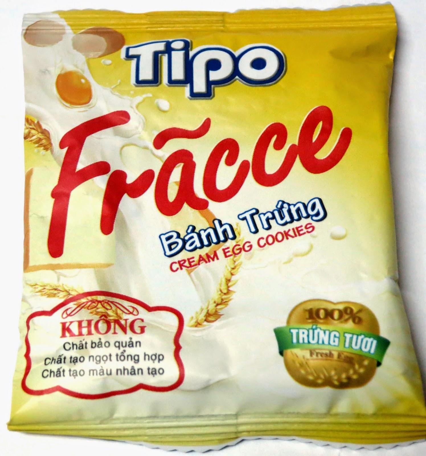 想 yummy, 就係咁 easy: 【西點推介篇】越南 Tipo 雞蛋味小多士