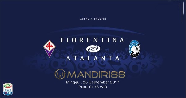 Kali ini Liga Serie A telah memasuki pekan ke Terkini Prediksi Bola : Fiorentina Vs Atalanta , Senin 25 September 2017 Pukul 01.45 WIB