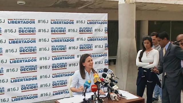 María Corina Machado: Rodríguez Zapatero defiende los intereses del régimen