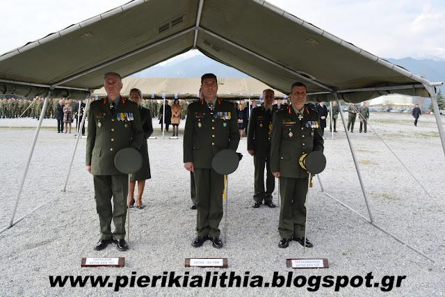 Νέος Διοικητής από σήμερα στην XXIV ΤΘΤ Λιτοχώρου ο Ταξίαρχος Ιωάννης Βασιλάκης.