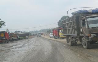 Jalan Lintas Sumatera lampung