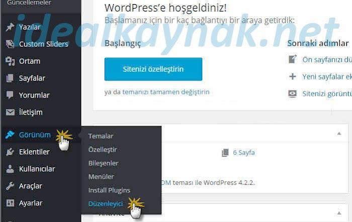 Wordpress Yazının Soluna, Sağına Reklam Kodu ekleme