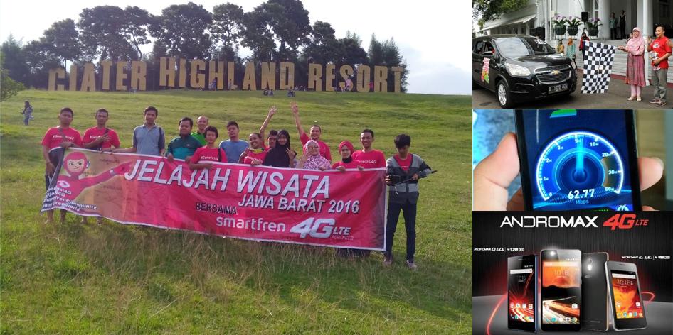 Jelajah Wisata Jawa Barat 2016 Bersama Smartfren 4G LTE Advanced